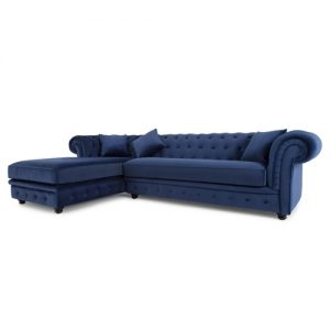 Chesterfield Like Corner Sofa