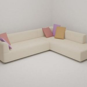 Corner Sofa Simple and Elegant
