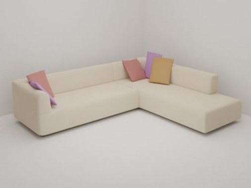Corner Sofa Simple and Elegant