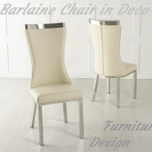 Barlaine Chair in Deco Polish