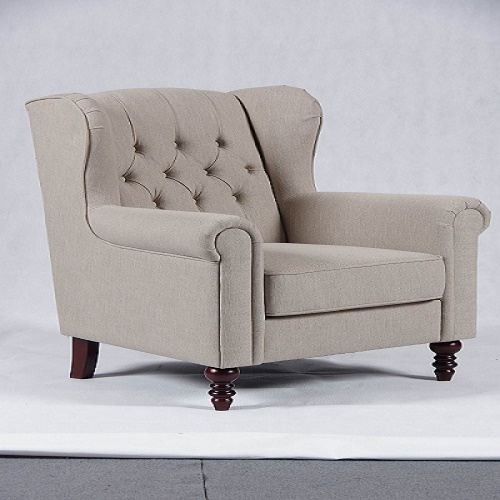 Classic Wing Chairs with modern Cloth