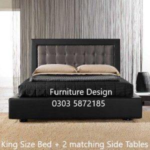 Arabese upholstered Bed