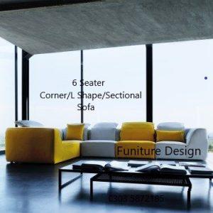 Furniture Design Pakistan, Differen Corner Sofa