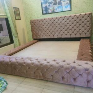 Leverlex Fabric Bed in Completely New Design by Furniture Design Pakistan