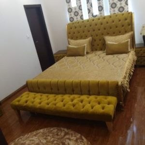Eliza Tufted Bed Made by Furniture Design